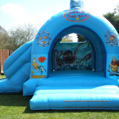Bouncy castle hire sussex and surrey - Dolphin swimming pool haywards heath ...