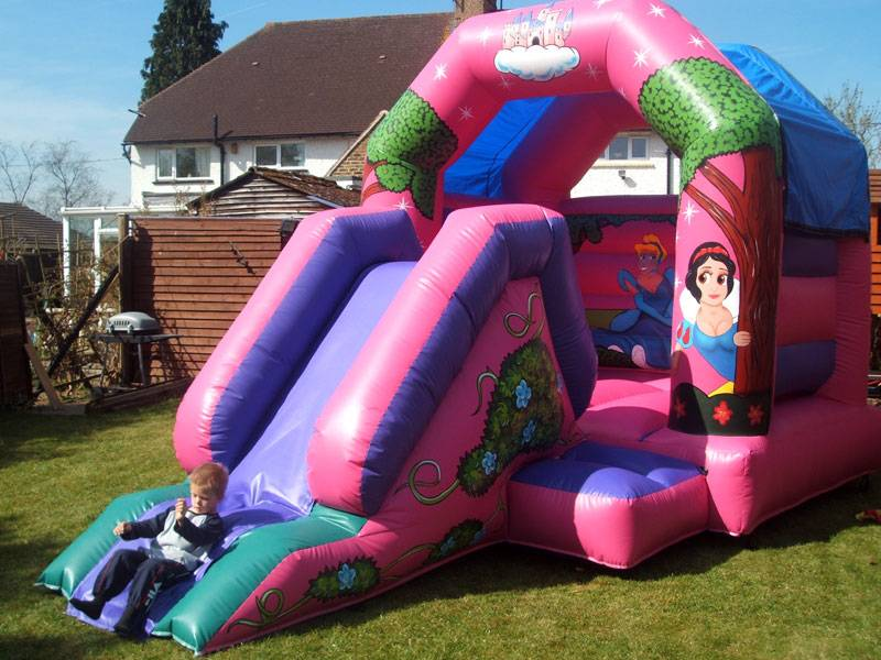 Princess Bouncy Castle and Slid