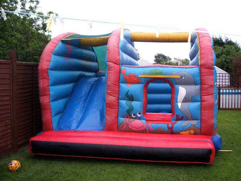 Slide and Bounce Bouncy Castle