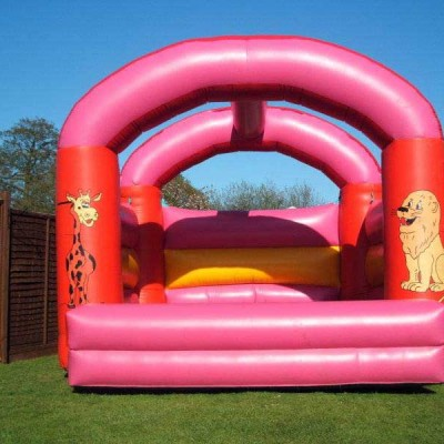 Zoo bouncy castle